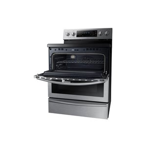 Samsung 30-in 5.9 cu ft Electric Range with Self Cleaning ...