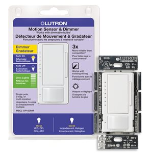 Lutron Maestro C.L 1.25-Amp White Digital Dimmer