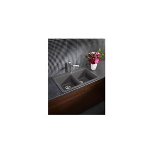 BLANCO Diamond Drop-In/Undermount Silgranit Kitchen Sink