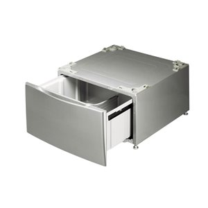 LG 13.6-in Laundry Pedestal (Graphite Steel) (WDP4V)