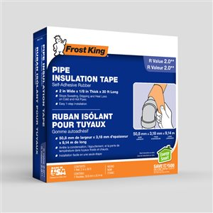 Frost King 1/8-in Rubber Plumbing Pipe Insulation