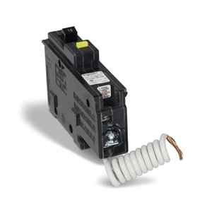 Homeline CHOM GFI 15-Amp Single Pole Ground Fault Plug-On Circuit Breaker