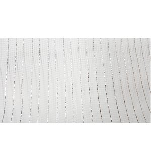 Holiday Living 21-in W x 3-in H White Ribbon