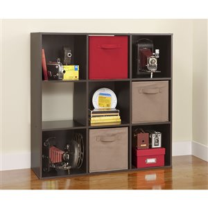 ClosetMaid Stackable 9-Cube Organizer