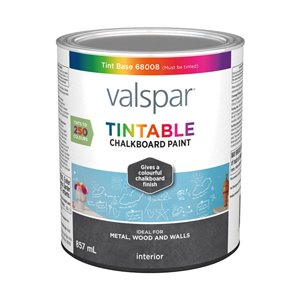 Valspar Tintable Latex Chalkboard Paint