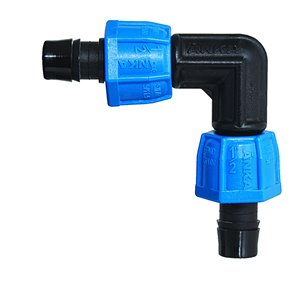 90 Elbow Plastic Coil Fittings