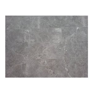 Avenzo 18-in x 18-in Grey Natural Marble Wall and Floor Tile