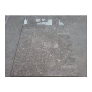 Avenzo 24-in x 12-in Grey Natural Marble Wall and Floor Tile