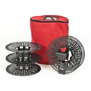 TreeKeeper 3-Reel 250-Light Red String Light Storage Bag