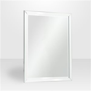 The Royal Rectangular Framed Mirror on Mirror