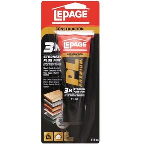 LePage 118ml PL Premium Construction Adhesive