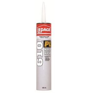 LePage PL610 295ml Mirror Construction Adhesive