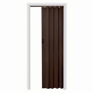 Spectrum 24-in to 36-in x 80-in Espresso Vinyl Folding Closet Door