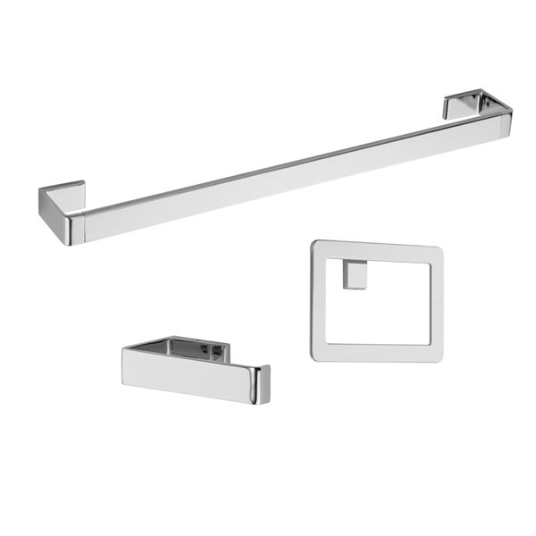 Pfister 3 Piece Modern Decorative, Modern Bathroom Hardware