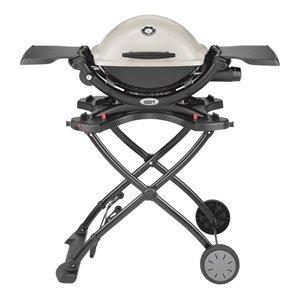 Weber Q Titanium Portable Gas Grill