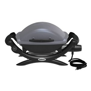 Weber Q 1400 Grey Portable Electric Grill