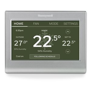 Honeywell Wi-Fi Smart Color Thermostat Multiple Colors/Finishes Smart Thermostat (Wi-Fi Compatible)