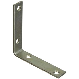 Stanley-National Hardware 3.5-in Zinc Plated Corner Brace