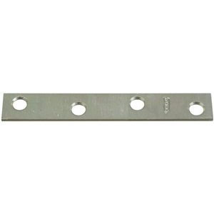 Stanley-National Hardware 4-in x 5/8-in Zinc-Plated Mending Brace