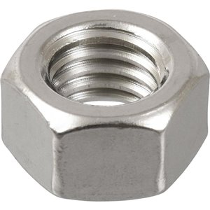 Hillman 8mm-1.25 Stainless Steel Metric Hex Nuts (5-Pack)
