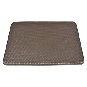 Design Decor 30-in x 20-in Brown Anti-Fatigue Cushion Mat
