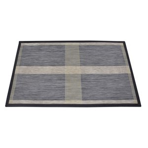 Design Decor 34-in x 20-in Textured Floor Mat