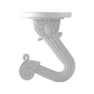 Hillman 2-Pack White Swag Hooks