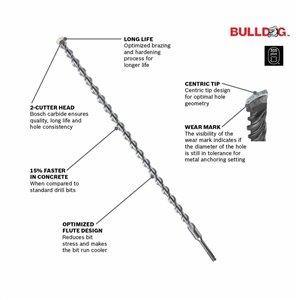 Bosch 5/32-in x 6-in SDS-plus Bulldog Rotary Hammer Bit