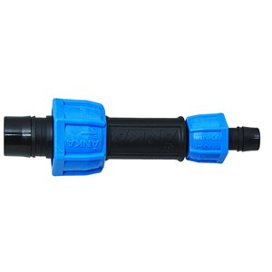 1-in x 1/2-in Dia. Plastic Coil Reducing Compression Coupling Fitting