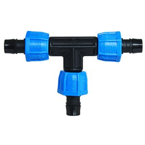 Dia Tee Plastic Coil Fittings