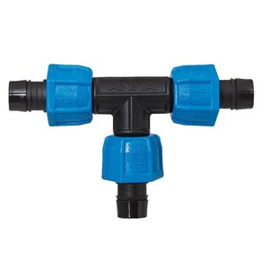 3/4-in Dia. Plastic Coil Compression Tee Fitting