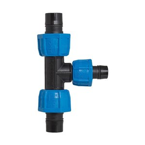 1-in x 3/4-in Dia. Plastic Coil Reducing Compression Tee Fitting