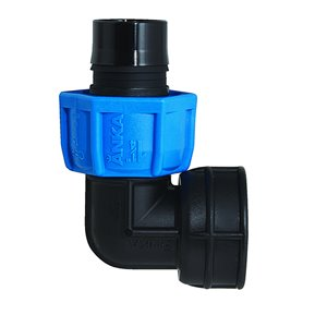 1/4-in Dia. 90-Degree Plastic Coil Female Elbow Fitting