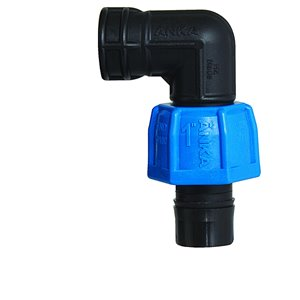 1-in x 1/2-in Dia.  90-Degree Plastic Coil Female Elbow Fitting