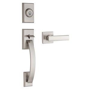 Weiser Tavaris/Vedani SmartKety Keyed Entry Handleset (Satin Nickel)
