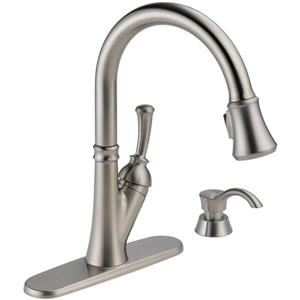 Delta Savile Stainless Steel One Handle Pull Down Kitchen