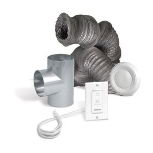 Venmar Optional Bathroom Installation Kit