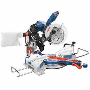 Bosch Glide 10-in 15-Amp Dual Bevel Sliding Compound Corded Miter Saw
