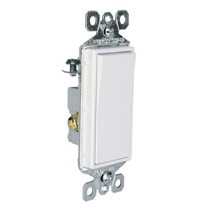 Legrand Radiant 5-Pack 15-Amp 3-Way White Rocker Light Switch