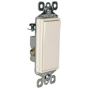 Legrand Radiant 5-Pack 15-Amp 3-Way Light Almond Rocker Light Switch