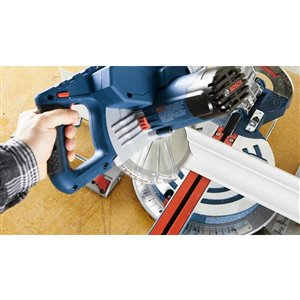 Bosch Glide 8-1/2-in 12-Amp Single Bevel Sliding Compound Corded Miter Saw