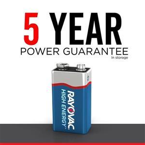 Rayovac Pp3 (9V) Alkaline Battery (2-Pack)