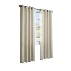 Legacy Rhapsody 84-in White Single Curtain Panel