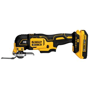 DEWALT 34-Piece 20-Volt MAX XR Lithium-Ion Cordless Oscillating Multi-Tool Kit