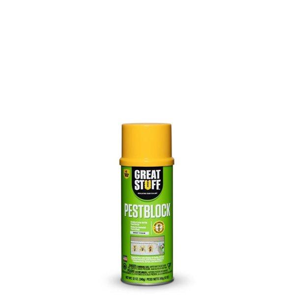 Dow GREAT STUFF Pestblock Insulating Foam Sealant 12-oz 12