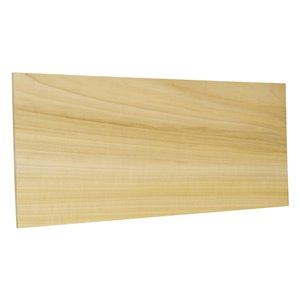 1/4-in x 8-in x 4-ft Poplar S4S Appearance Board