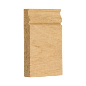 3.5-in x 6-in N/F Red Oak Wood N/F Baseboard Moulding Block