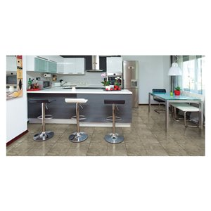 American Olean Carriage Hill 12-in x 12-in Twilight Glazed Porcelain Floor Tile