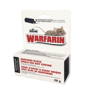 Warfarin Single-Use Bait Station