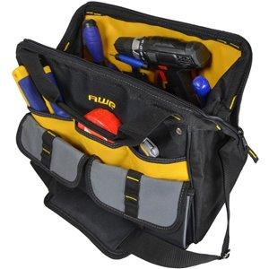 AWP 16-in Zippered Closed Tool Bag